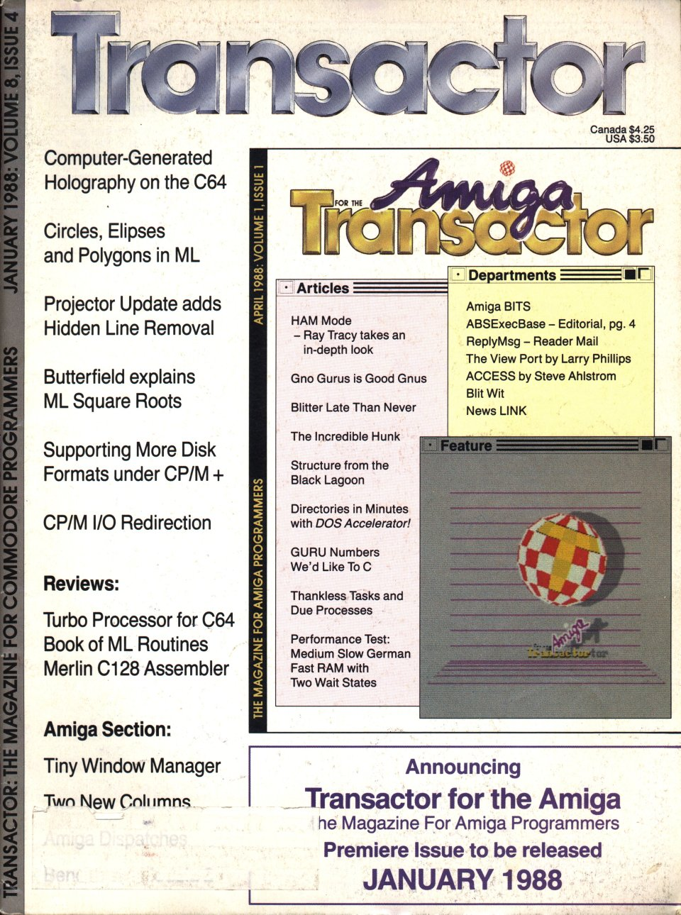 [Cover Page of The Transactor Volume 8, Issue 4]